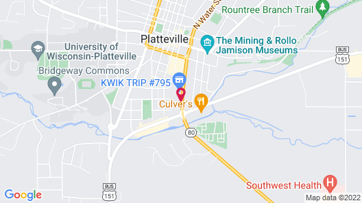 Country Inn & Suites by Radisson, Platteville, WI Map