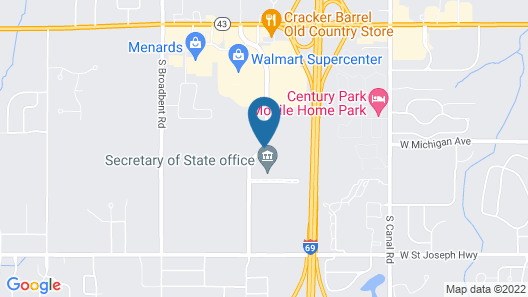 SpringHill Suites by Marriott Lansing West Map