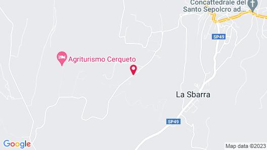 Agriturismo San Filippo Map