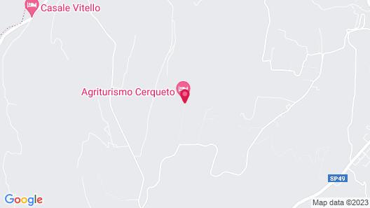 Agriturismo Cerqueto Map