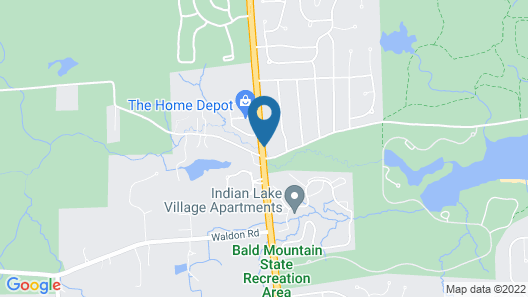 Red Roof Inn & Suites Lake Orion/Auburn Hills Map