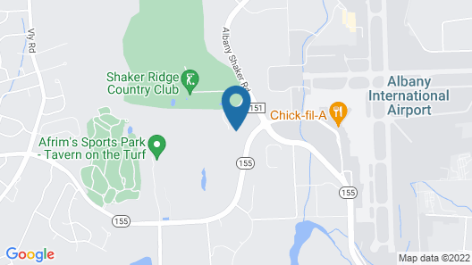 Tru By Hilton Albany Airport, NY Map