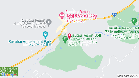 Rusutsu Resort Hotel & Convention Map