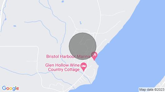 3 Bedroom Townhouse in scenic Bristol Harbor Vill near Bristol Mountain Resort Map