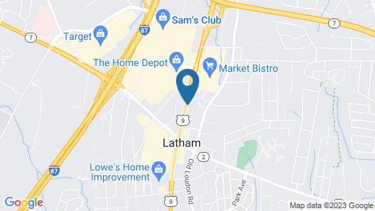 La Quinta Inn & Suites by Wyndham Latham Albany Airport Map