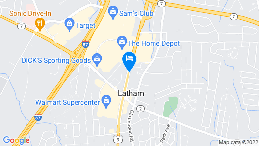 La Quinta Inn & Suites by Wyndham Latham Albany Airport Map