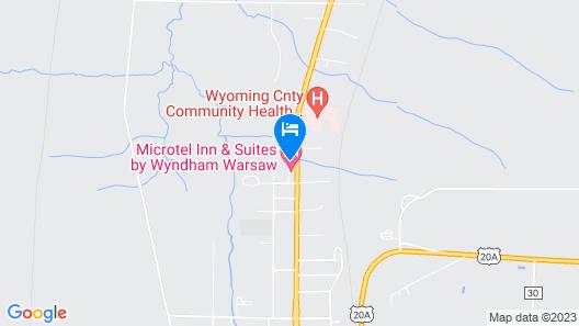 Microtel Inn & Suites by Wyndham Warsaw Map