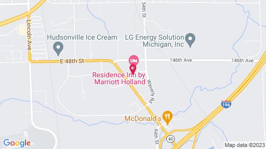 Residence Inn by Marriott Holland Map