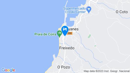 Apartamentos Portosin 3000 Map