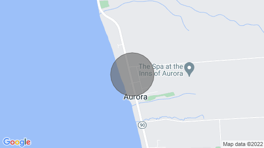 Hide-away Apartment in the Heart of the Village of Aurora Map