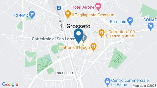 Grand Hotel Bastiani Map