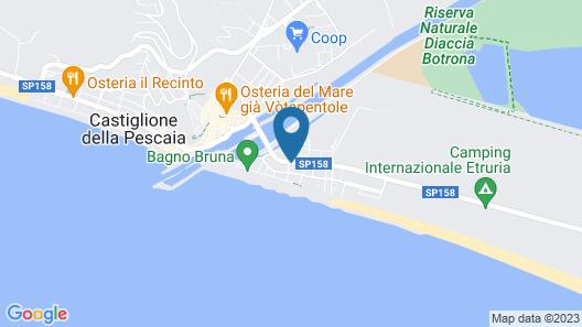 Hotel Kinda Map