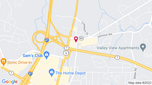 Holiday Inn Express & Suites Albany Airport Area - Latham, an IHG Hotel Map