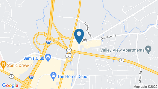 Holiday Inn Express & Suites Albany Airport Area - Latham Map