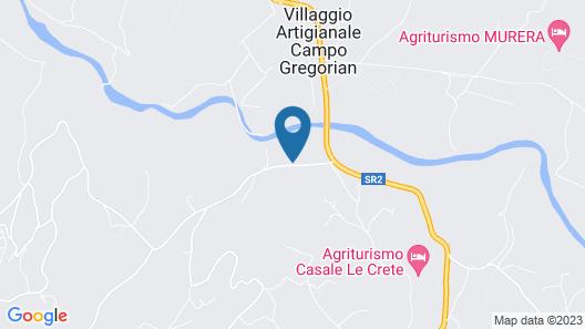 Agriturismo Santa Veronica Map