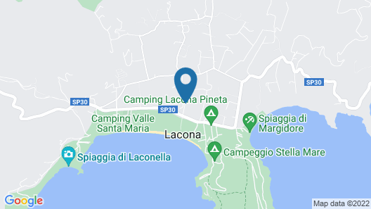 Uappala Club & Resort Lacona Map