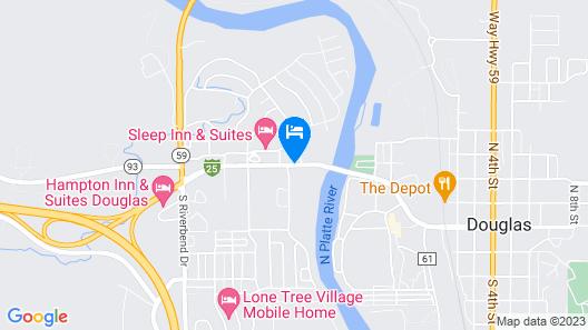 Sleep Inn & Suites Douglas Map