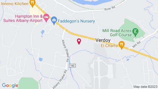 Residence Inn Albany Airport Map
