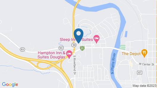Douglas Inn & Conference Center Map