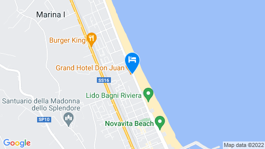 Grand Hotel Don Juan Map