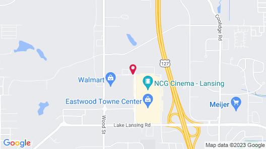 Homewood Suites by Hilton Lansing Eastwood Map