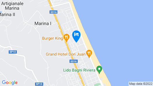 Youmami Lifestyle Suite Hotel Map