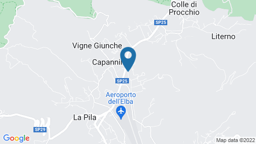 Hotel Villa Cristina Map