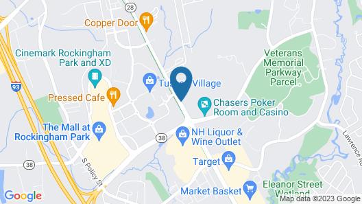 Park View Inn - Salem Map