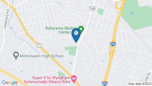 Quality Inn Schenectady - Albany Map