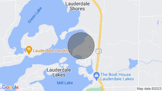 Beautiful Lauderdale Lakefront Retreat Map