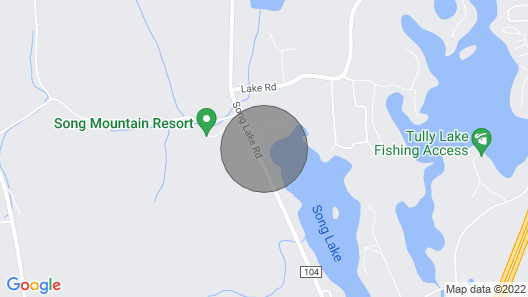 Family Lake Home: Paddleboards, Kayaks & Fire Pit! Map