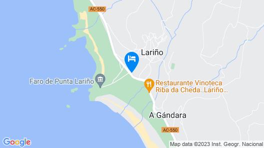 106401 - Apartment in Lariño Map