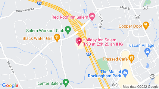 Holiday Inn Salem - I-93 at Exit 2, an IHG Hotel Map
