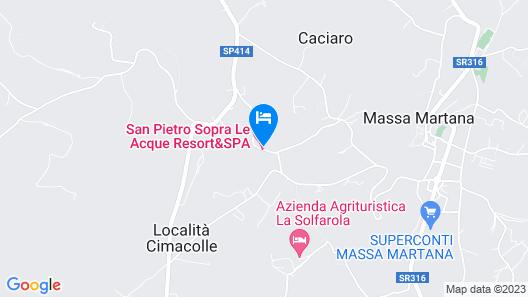Residenza d'Epoca San Pietro Sopra le Acque Map