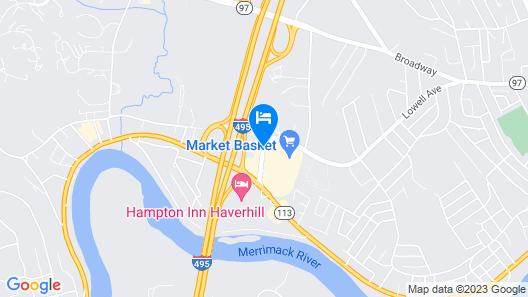 Best Western Merrimack Valley Map