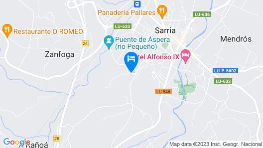 Casa Ferroviario Map