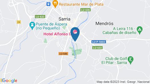 Hotel Alfonso IX Map