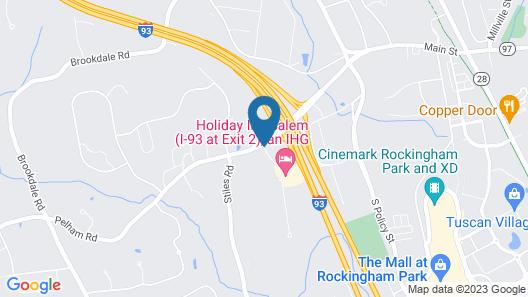 Holiday Inn Salem - I-93 at Exit 2 Map