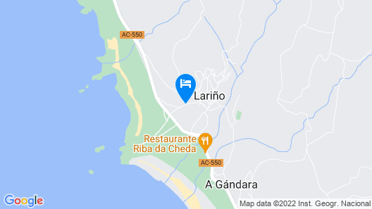 House in Carnota A Coruna 101514 Map