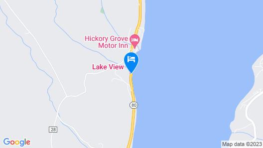Lake View Motel Map
