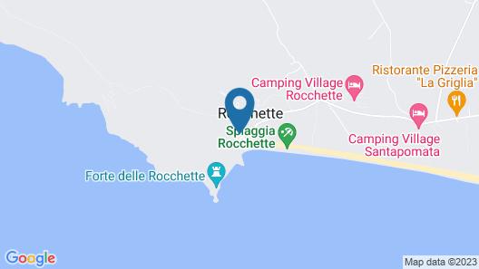 Stella del mare Camping Village Map