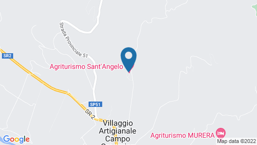 Agriturismo Sant'Angelo Map
