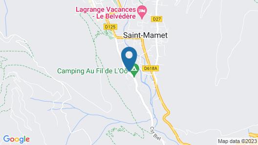 Résidence Lagrange Vacances le Belvédère Map
