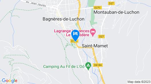 Hôtel Aquitaine Map