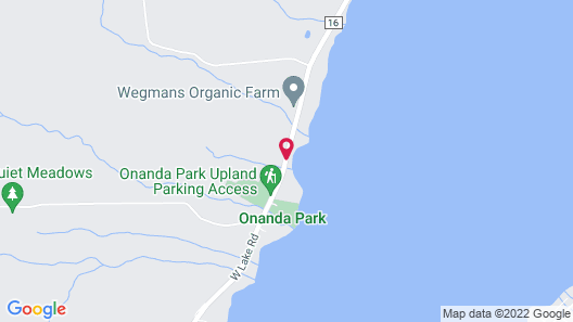 Onanda by the Lake Map