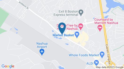 Hampton Inn Nashua Map