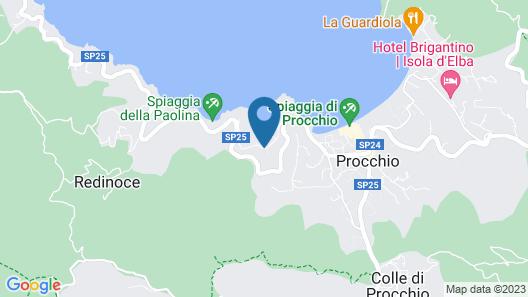 Hotel Desiree Map
