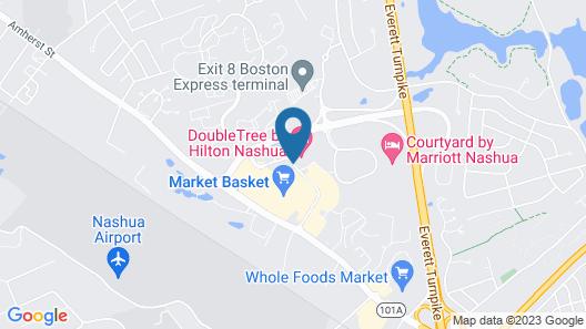DoubleTree by Hilton Nashua Map