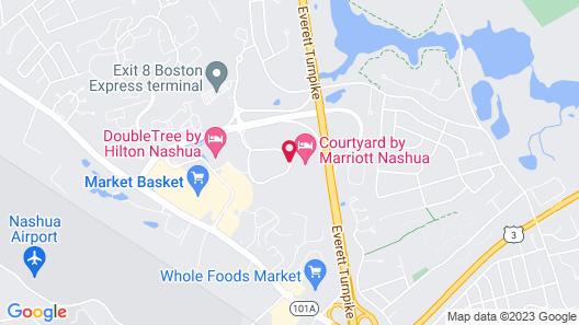 Courtyard by Marriott Nashua Map