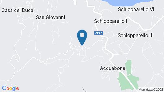 Resort le Picchiaie Map